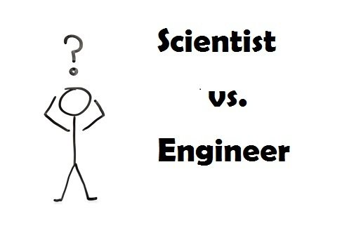 scientist versus engineer
