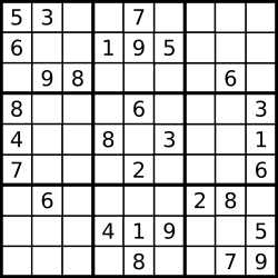 fun math games - sudoku