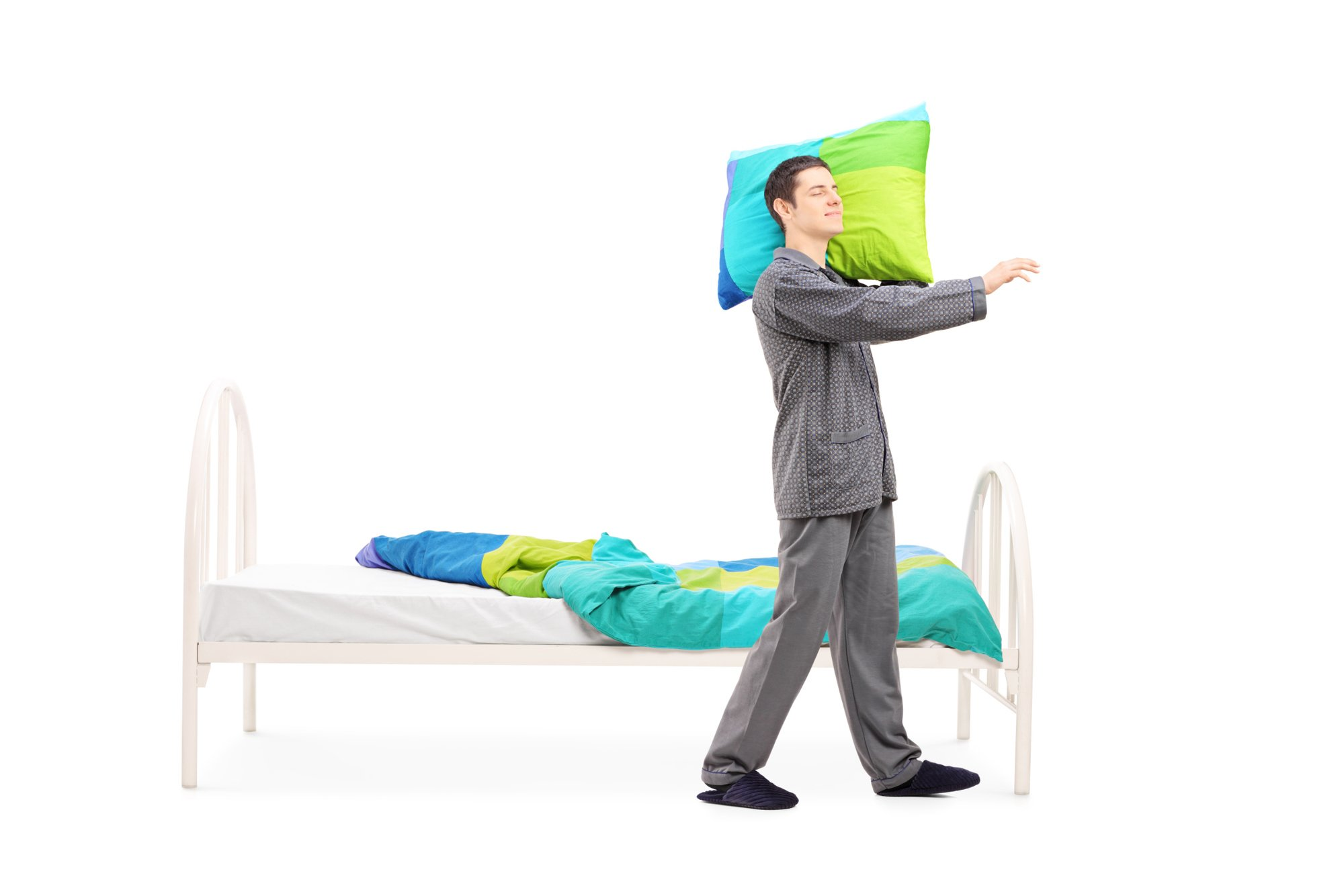 the science behind sleep walking A weighted blanket is for therapeutic sleep and relaxation, naturally there is science behind it, but grandma has long known this without the science the short version of how weighted blankets work is based on how it acts on the body's sensory system.