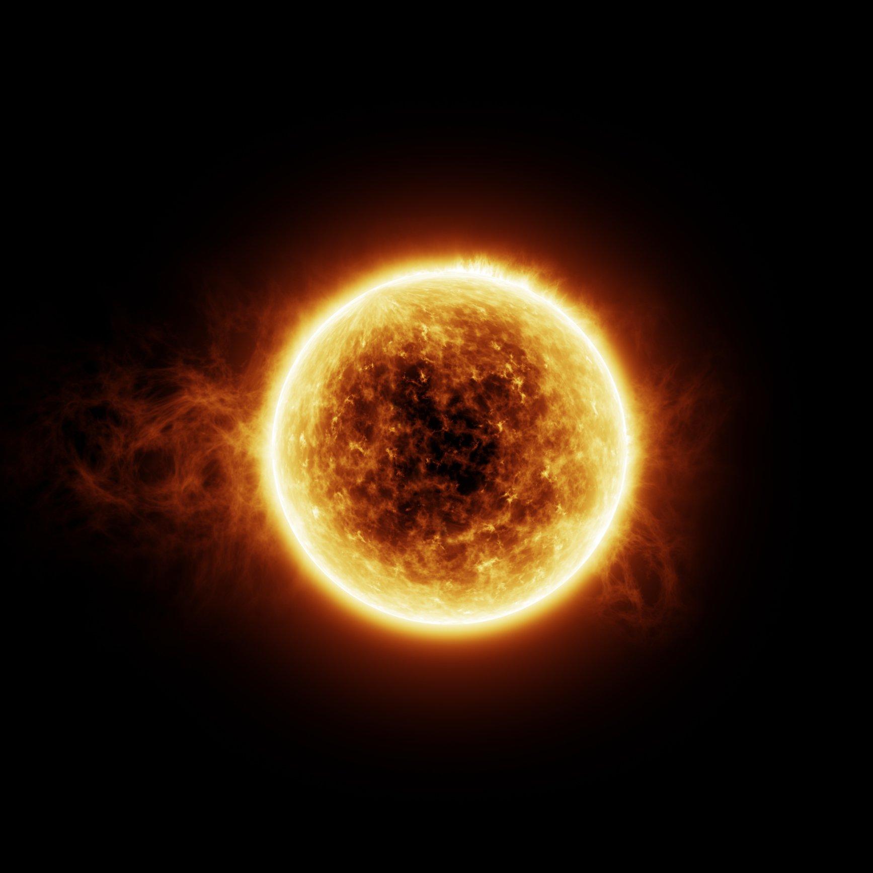 Flares Sonne